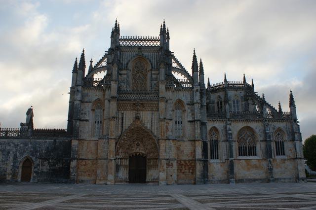Центральный вход в монастырь. Баталья