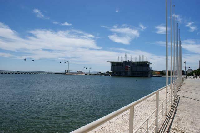 Набережная и Океанариум Лиссабона
