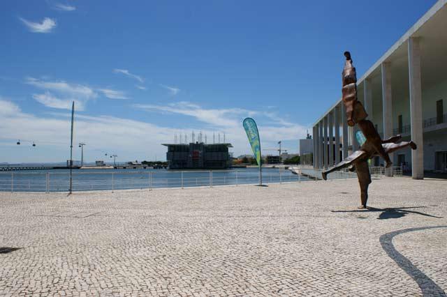 Набережная Лиссабона с видом на Океанариум