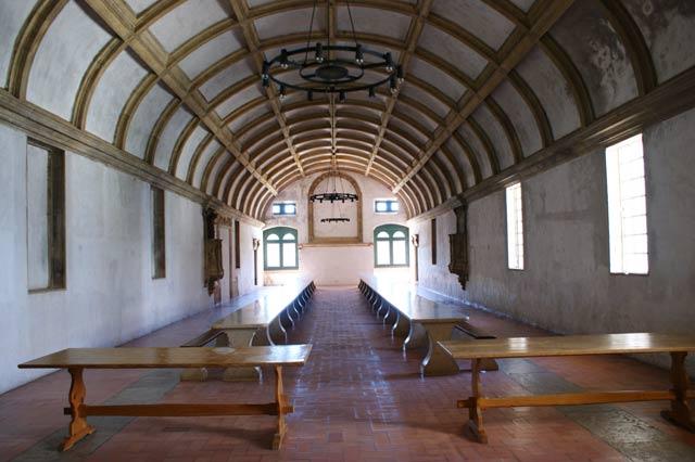 Столовая в замке Томара