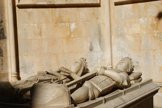 Захоронение Короля Дуарта и его жены