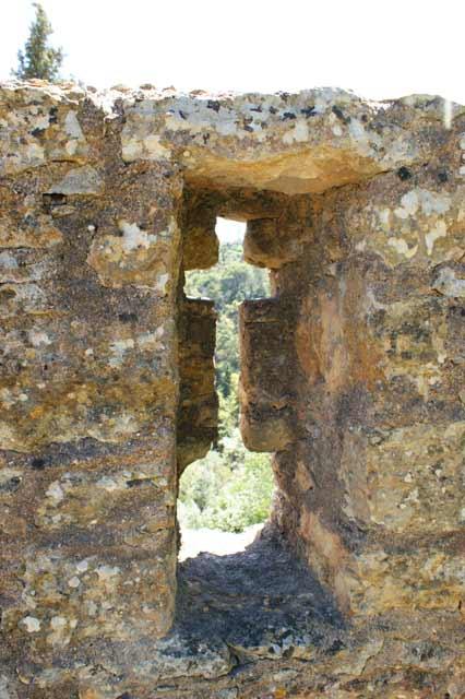 Бойницы крепостной стены