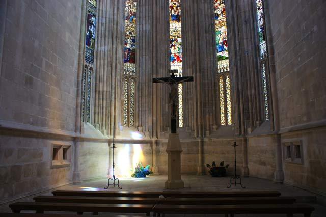 Молитовный зал. Монастырь Батальи